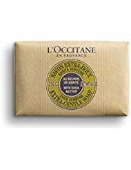 L'Occitane Extra-Gentle Vegetable Based Soap Enriched with Shea Butter - Verbena, Net Wt. 8.8 oz.
