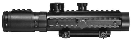 BARSKA Cross Electro Riflescope 1 3x30