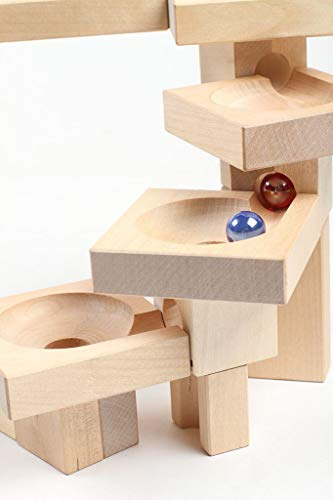 Varis Wooden Marble Run - Fix and Lock Twister Edition by Varis (Image #4)