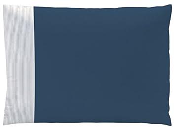 Matt Rosa 044866 Kissenbezug Baumwolle Nachtblau 50 X 70
