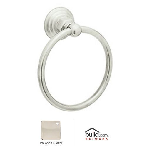 Rohl ROT4PN Country Bath Towel Ring in Polished Nickel