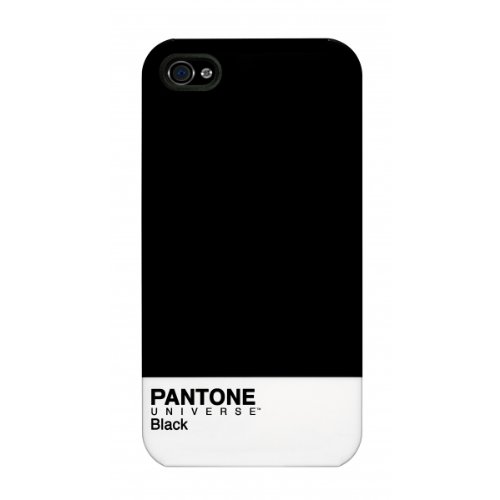 cheap for discount 2000f cc99a Case Scenario PA-IP4-BLKC PANTONE UNIVERSE iPHONE 4/4S IMD COVER - BLACK -  Carrying Case - Retail Packaging - black