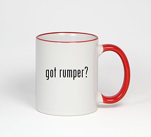got rumper? - 11oz Red Handle Coffee Mug Cup