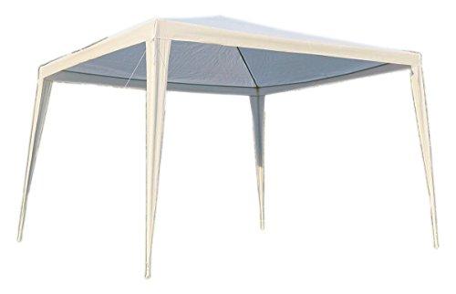 Aluminum Folding Gazebo : Ft folding white metal gazebo canopy tent