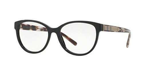Burberry Women's BE2229 Eyeglasses Black 52mm