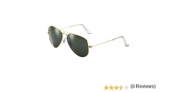 Ray-Ban - Gafas de sol Aviador RB3025 Aviator Large Metal ...