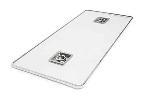 Outland Fire Table Glass Lid Insert (Outdoor Glass Tables)