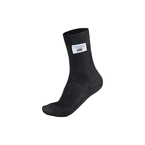 OMP (IAA/724071M) Ankle Socks, Black, Medium Nomex Socks
