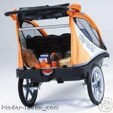 kid car comfort fahrradanhänger