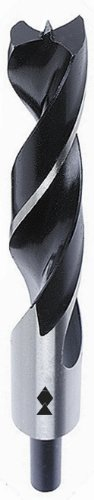Fisch FSF-003830 Chrome Vanadium Brad Point Drill Bit, 1/2-Inch