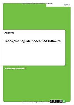 Book Fabrikplanung. Methoden und Hilfmittel