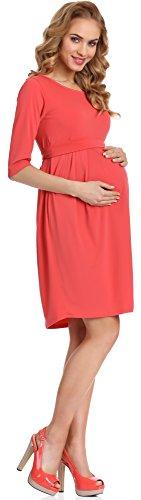 Be Mammy Vestido de Premamá para mujer Lucy Coral