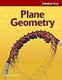 A Beka Plane Geometry Solution Key (#95397003)