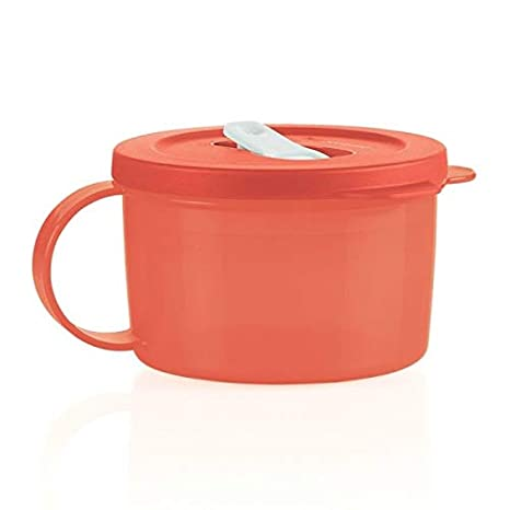 Amazon.com: Tupperware crystalwave Taza Sopera Naranja con ...