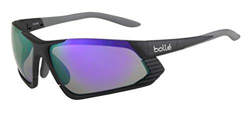 Bolle Cadence Sunglasses, Matte Black/Blue Violet Oleo - Photochromic Sunglasses Bolle