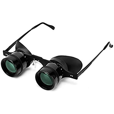 Professional Hands-Free Binocular Glasses for Fishing  Bird Watching  Sports  Concerts  Theater  Opera  TV  Sight Seeing  Hands-Free Opera Glasses for Adults Kids  Green Film Optics -Upgraded