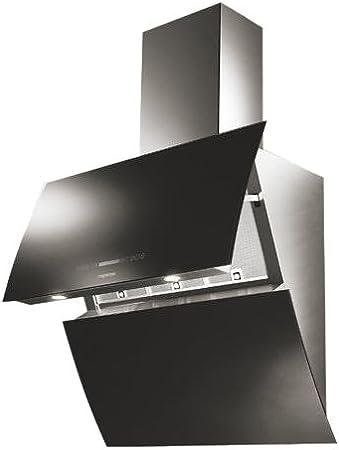 Mepamsa Mirror pro Negro 850m³/h - Campana (850 m³/h, Negro, 20 W, 2 bombilla(s), Halógeno, Sensor): Amazon.es: Hogar