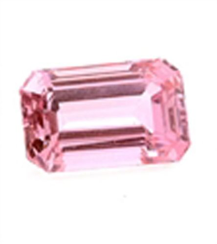 Rare Emerald Cut Octagon Kunzite Big Gems Stone for Any Collection