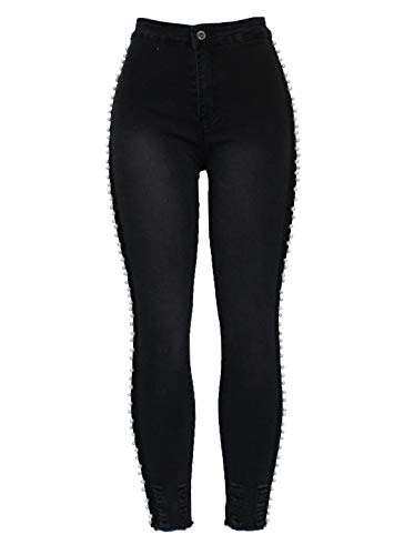 Fashion 2 Unique Femme Motif Taille Jeans Skinny Barfly vTwRd0xzqz