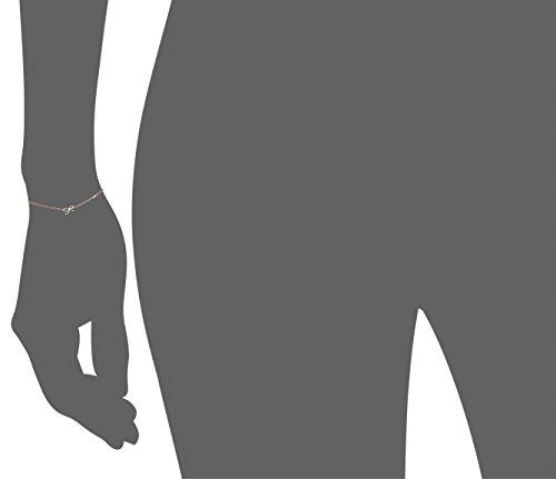 Shy by Sydney Evan Bracelet Acier Inoxydable Ronde Diamant Blanc Femme