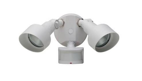 270 Degree Outdoor White Motion Security-Light by Defiant