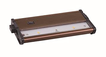 Delicieux Maxim Lighting 89912MB Two Light Glass LED Under Cabinet Light, Metallic  Bronze