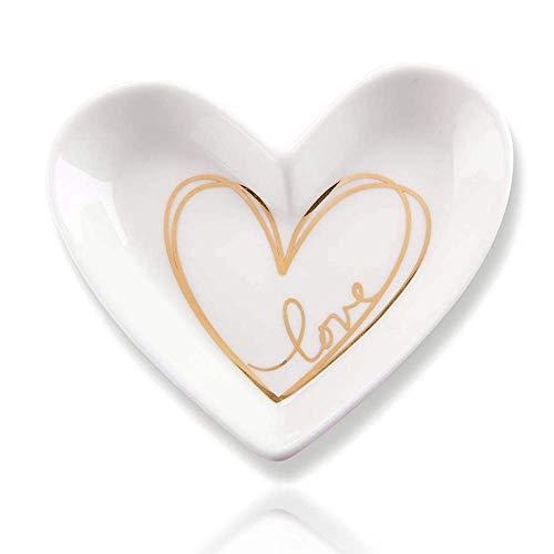- Kate Aspen Heart Shaped Trinket Dish (Set of 12), 3.25