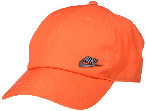 Nike Unisex NSW Aerobill H86 Cap, Team Orange/Black, Misc -