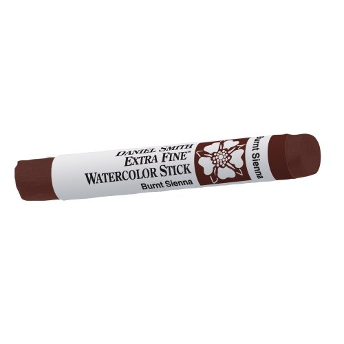 DANIEL SMITH Extra Fine Watercolor Stick 12ml Paint Tube, Burnt Sienna