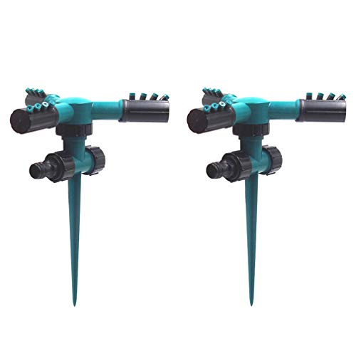 Lawn Sprinkler, 360 Degree Automatic Rotating Water
