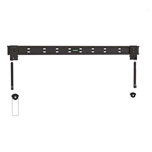Ultra-Slim Black Fixed/Flat Low-Profile Wall Mount Bracket for Panasonic Viera TC-58LE64 58