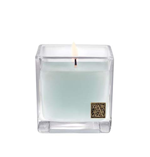 Aromatique Cotton Ginseng Cube Candle in Glass 12 oz (340g) Candle 12 Oz 340g