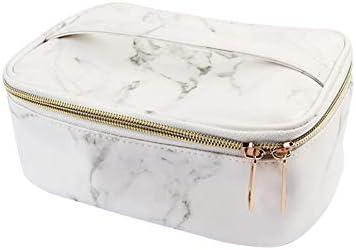 Estuche de almacenamiento impermeable viaje multifuncional bolsa de maquillaje de mármol Vena monedero Higiene Organizador cosmético de la bolsa para las mujeres niñas adolescentes 1PC: Amazon.es: Belleza