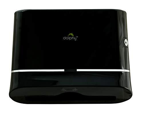 Dolphy Multifold Mini Hand Towel Paper Dispenser Black 4