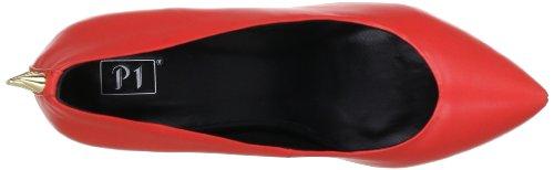 P1 95 bpm 95 Damen Pumps Rot (Red)