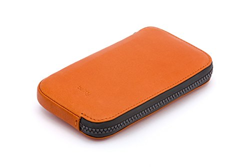 Bellroy Geldbörse All Conditions Phone Pocket - Standard, Farbe: Charcoal - Woven Burnt Orange