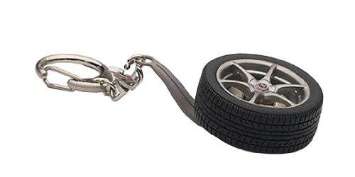 R34 Wheel Key Chain GT-R emblem 40356 japan import AUTOartDESIGN Nissan Skyline GT-R