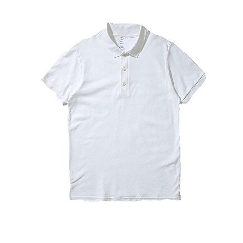 William夏 服メンズ 半袖 ポロシャツ 修身 半袖 Tシャツ 開襟シャツカッコイイスポーツウェア ゴルフウェア 作業着 無地 通気性 薄手 吸汗 夏 polo ファッション カッコイイ