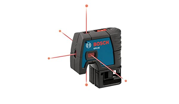Bosch GPL5E 5-Point Laser Alignment with Fully Automatic