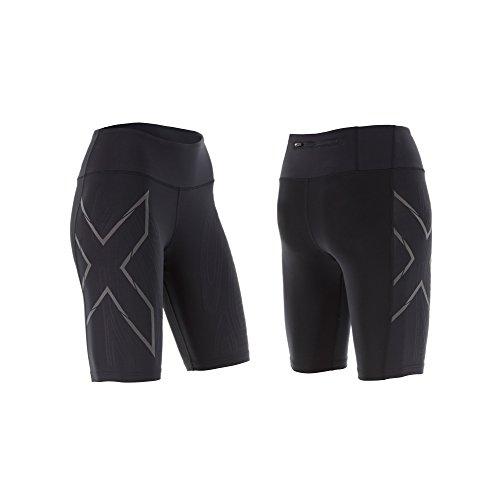 2x U Femme MCS Run Short de compression