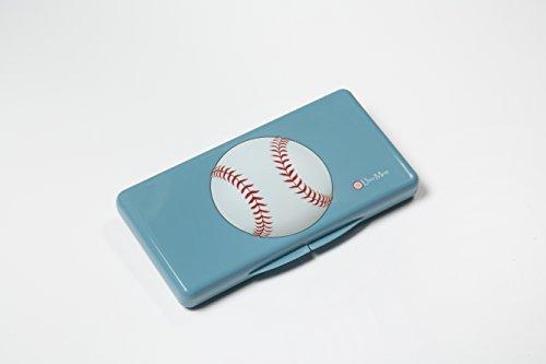 Uber Mom Baseball Wipe Box, Blue