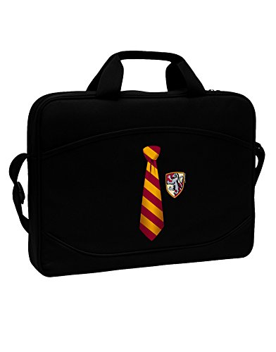 TooLoud Wizard Tie Red and Yellow 15'' Dark Laptop/Tablet Case Bag by TooLoud (Image #1)
