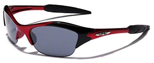 KIDS AGE 3-12 Half Frame Sports Sunglasses, - Sport Sunglasses Youth