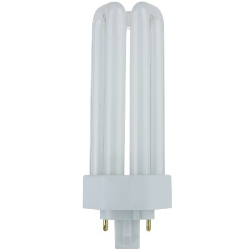 (Sunlite PLT26/E/SP27K 26-Watt Compact Fluorescent Plug-In 4-Pin Light Bulb, 2700K Color)