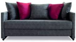 SHIITO Sofá litera Modelo ATHENEA tapizado en Tela. Disponible