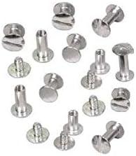 FASTPRO 1 1//2 Aluminum Binding Posts /& Screws