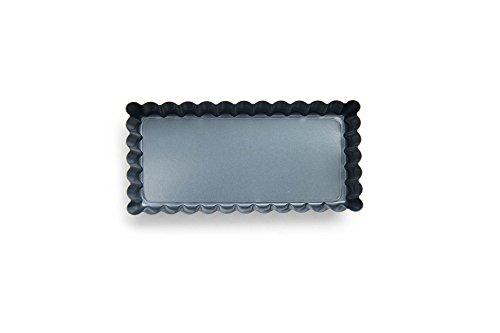 Fox Run 44491 Non-Stick Tart Pan, 4.5 x 2.25 x 0.75 inches, Metallic