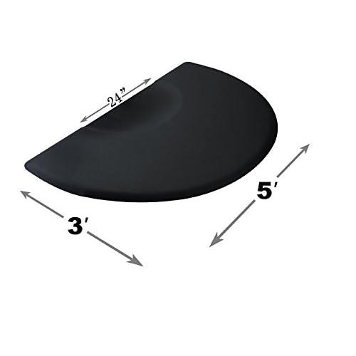 """5' x 3' 1/2"""" Thick Barber Salon Chair Anti Fatigue Floor Mat 6154-0020"""