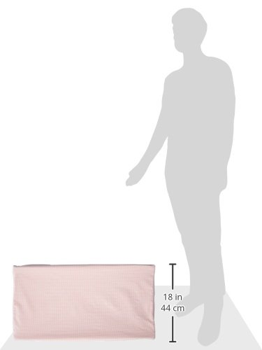 Glenna Jean Isabella Changing Pad Cover, Pink/Cream