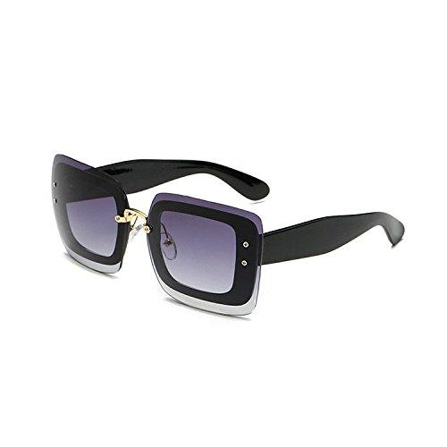 marco hombres Wome Estados película y sol de de A y gafas los generoso Europa de de sol de los moda mercurio espejo Aoligei superficial N marea la cientos retro Gafas wx0a6qgwt1